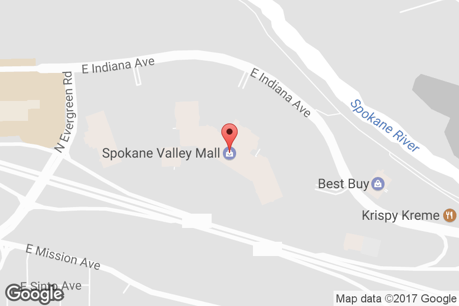 Map of Spokane Valley Mall - Click to view in Google Maps